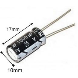 Купити конденсатор 1000мкф 25в