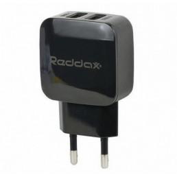 Зарядний пристрій Reddax RDX-025 5V x 2.4A - 2USB