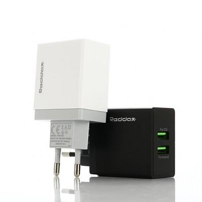 Зарядний пристрій Reddax RDX-029 5V x 2.4A 2USB
