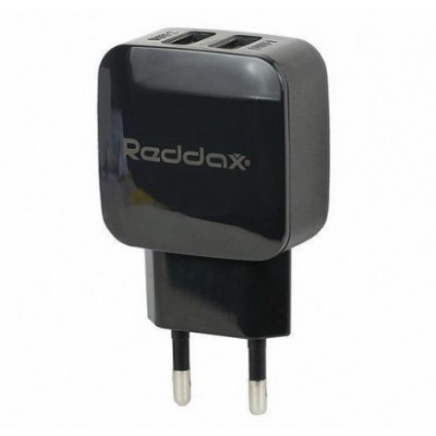 Зарядний пристрій Reddax RDX-021 5V x 2.4A 2USB