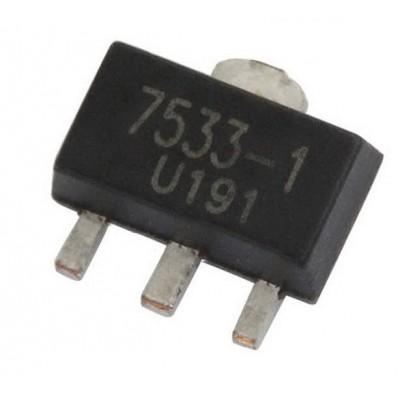 HT7533 || Лінійний стабілізатор SOT-89