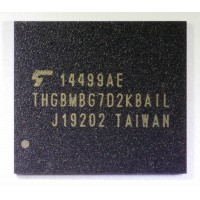 THGBMBG7D2KBAIL  16Gb    NAND Flash Serial e-MMC 153FBGA