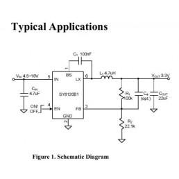 SY8120B1ABC  || DC-DC перетворювач SOT23-6