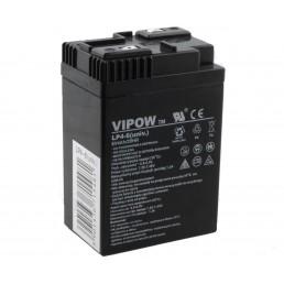 Акумулятор 6V*4,0Ah VIPOW 0204