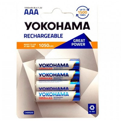 R03 AAA 1050mAh/B2  YOKOHAMA Ni-MH