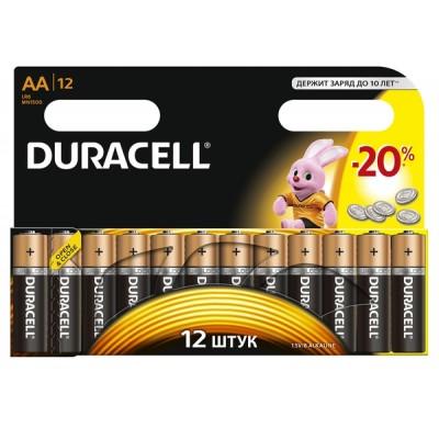 Батарейка LR06 (AA) DURACELL MN1500 1x12