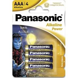 LR03 (AAA) PANASONIC Power 1x4