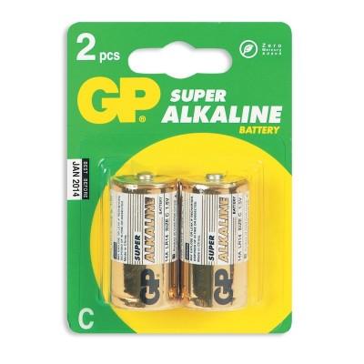 Батарейка LR14 (C) GP SUPER ALKALINE 1x2