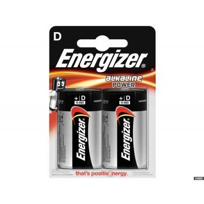 LR20 (D) Energizer Power 1x2
