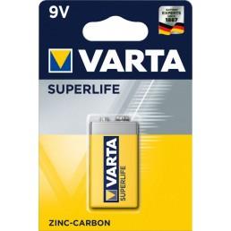 Батарейка Крона 6F22 VARTA shrink Superlife