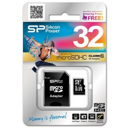 Картка пам'яті 32GB SILICON POWER micro SDHC  Class 10