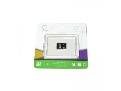 Картка пам'яті 32GB T&G micro SDHC  Class 10 + adaptor