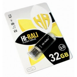 Флешка 32GB USB2.0 Hi-Rali Rocket series Black
