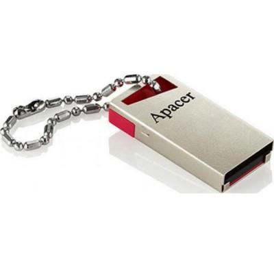 Флешка 64GB USB2.0 APACER  AH112 Red