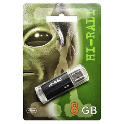 Флешка 8GB USB2.0 Hi-Rali Corsair series Black