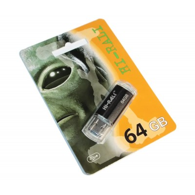 Флешка 64GB USB2.0 HI-RALI Corsair series Black