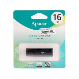 Флешка 16GB USB2.0 APACER AH23B black