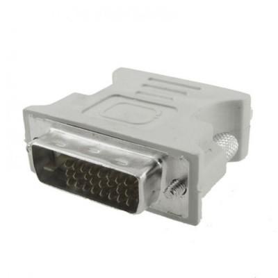 Перехідник гніздо VGA - штекер DVI (24+5)