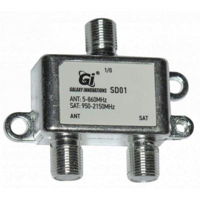 Діплексер TV-SAT GI SD01