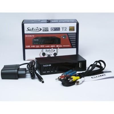 Тюнер T2 SATCOM T505 T2 HEVC
