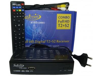 Купити Тюнер Комбо Satcom 4180HD  Combo Рівне
