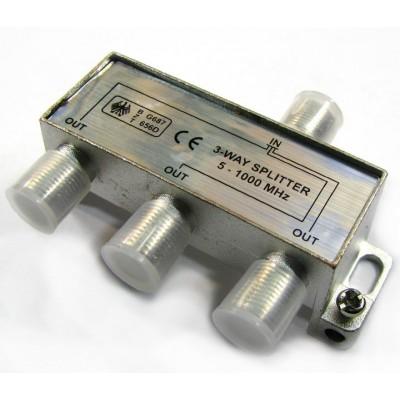 Сплітер 1/3 BZT 656D HQ  5-1000 MHz (прохідний)
