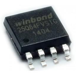 Мікросхема W25Q64FVS (25Q64FVS) IC SPI 64MBIT 8SOIC