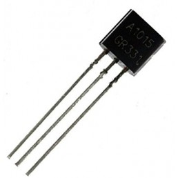 Транзистор 2SA1015 (50V*0.15A*0.4W)(TO-92) P-N-P