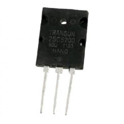 Транзистор 2SC5200 (230V*15A*150W)(TO-3P) N-P-N