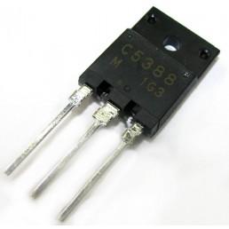 Транзистор 2SC5388 (1500V*5A*50W) (TO-3PML) BU808DX n-p-n
