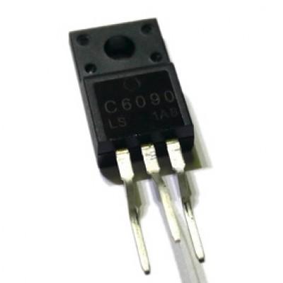 Транзистор 2SC6090 (1500V*10A*35W)  (TO-220FI(LS)) N-P-N
