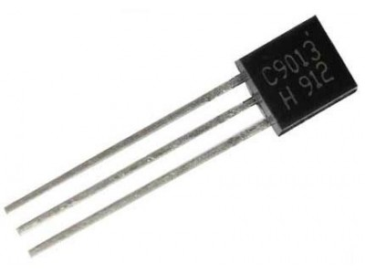 Транзистор 2SC9013 (40V*0.5A*0.6W) (TO-92) n-p-n