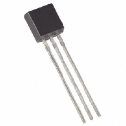 Транзистор 2SD734 (25V*0.7A*0.6W) (TO-92) n-p-n