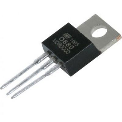 Транзистор 2SD880 (60V*3A*30W) (TO-220) n-p-n