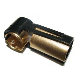 Перехідник штекер Blaupunkt - гніздо антена кутовий GOLD