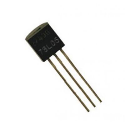 Стабілізатор 78L05 (TO-92)  0.1A 5V