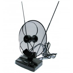 Антена ТВ DVB-T2 A-02 (всехвильова кімнатна)