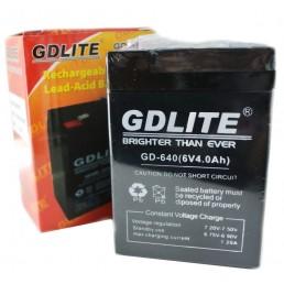 Акумулятор 6V*4Ah GD LITE GD-640