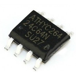 Мікросхема AT24C64 (SOP-8)