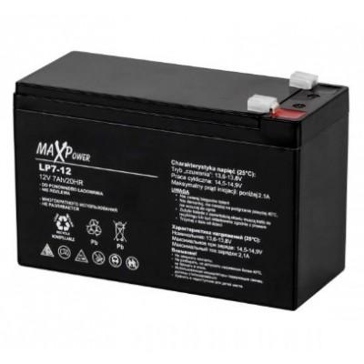 Акумулятор 12V*7Ah MaXpower 0402