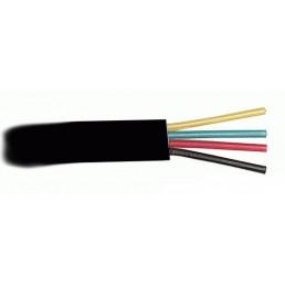Кабель тлф. 6p4c (чорний)