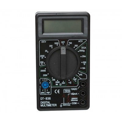 Цифровий мультиметр DT838