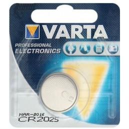 Батарейка CR2025 VARTA LITHIUM