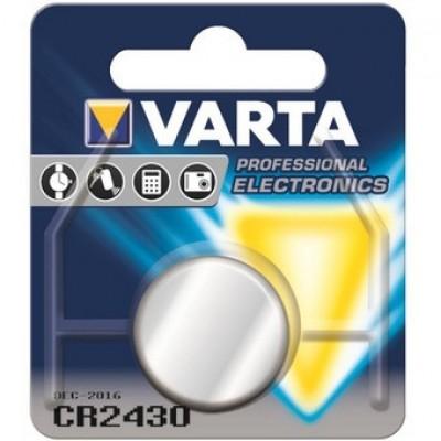 Батарейка CR2430 VARTA LITHIUM