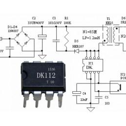 Мікросхема DK112 (DIP-8)