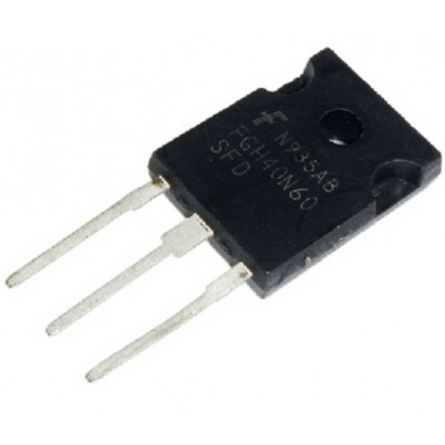 FGH40N60SFD || Транзистор IGBT TO-247
