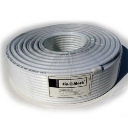 Телевізійний кабель ТВ F660  Finmark (100m) білий