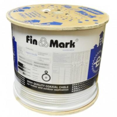 Кабель ТВ F660  FINMARK (305m) білий