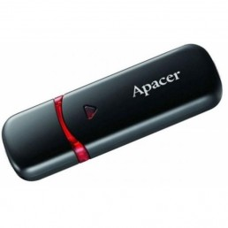 Флешка 64GB USB2.0 APACER AH333 black