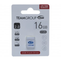 Флешка 8GB USB2.0 Team C12G Black